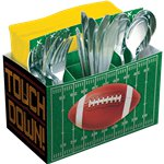 Football Cutlery Condiment Tray - 19cm