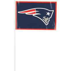 NFL New England Patriots Plastic Handwaving Flags