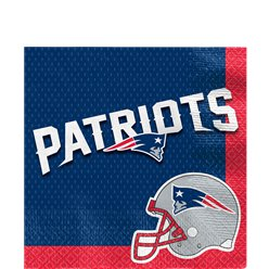 NFL New England Patriots Napkins - Paper Lunch Napkins