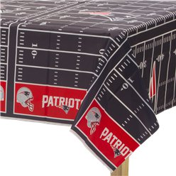 NFL New England Patriots Tablecover - Plastic Tablecover