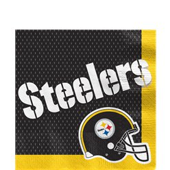NFL Pittsburgh Steelers Napkins - Paper Lunch Napkins