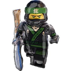 "Lego Ninjago Supershape Foil Balloon - 35"" Foil"