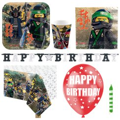 Ninjago Party Pack - Deluxe Pack for 8