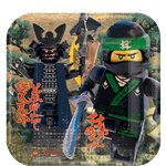 Lego Ninjago - 23cm Square Paper Party Plates