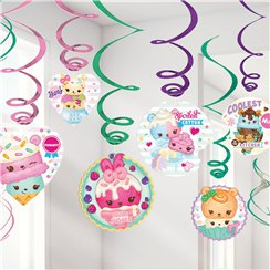 Num Noms Hanging Swirl Decorations