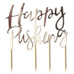 Oh Baby 'Happy Pushing' Cake Topper