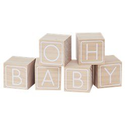 Oh Baby Building Blocks Guest Book