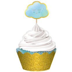 Oh Baby Blue Cupcake Kit