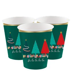 Oh Christmas Tree Cups - 250ml