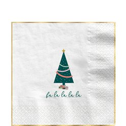 Oh Christmas Lunch Napkin - 33cm