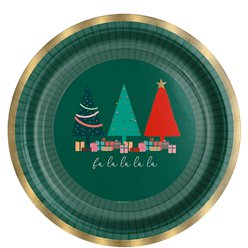 Oh Christmas Tree Plate - 23cm