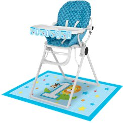 One is Fun Boy High Chair Kit