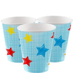 One is Fun Boy Paper Party Cups - 256ml