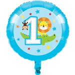 One is Fun Boy Foil Balloon - 17""