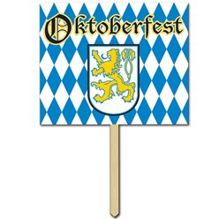 Oktoberfest Yard Sign - 38cm