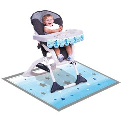 One Little Star Boy High Chair Kit