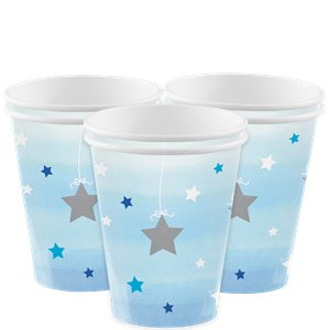 One Little Star Blue 1st Birthday Party Pack - Value Pack for 8