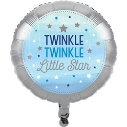 "One Little Star Boy Balloon - 18"" Foil"