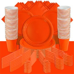 Orange Party Pack For 100 People