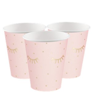 Pamper Party Pink Paper Cups
