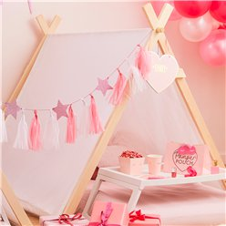 Pamper Party White Sleepover Tent - 1.2m
