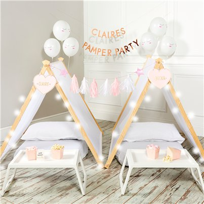 Pamper Party Sleepover Tent Kit