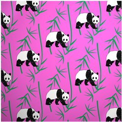 Panda Print - Sheet of Eco Gift Wrap