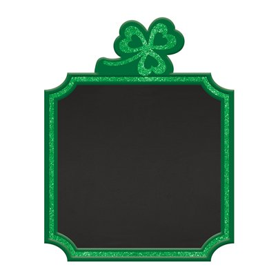 St Patrick's Day Standing Chalkboard Sign - 23cm