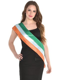 Irish Flag Sash - 1.57m