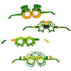 St Patrick's Day Fun Glasses