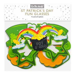 St Patricks Day Fun Glasses