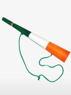 Irish Flag Party Horn - 38cm