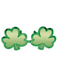 St Patrick's Day Giant Shamrock Glasses