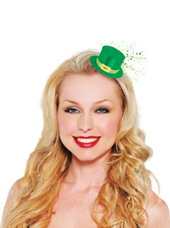 Mini Leprechaun Hat Clip - 7cm