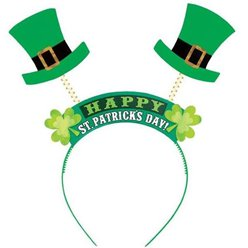'Happy St Patricks Day' Headband  - 25cm