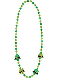 St Patrick's Day Top Hat Necklace