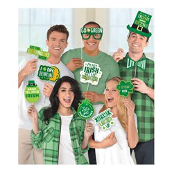 St Patrick's Day Fun Phrases Photo Booth Props