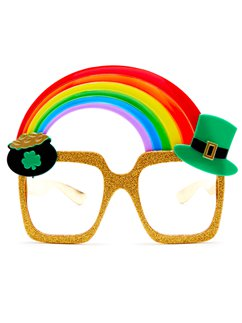 St Pats Rainbow Glasses
