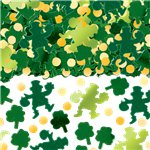 Green Big Pack Of Shamrocks Table/Invite Confetti