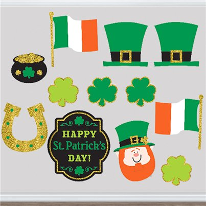 St Patrick's Day Cutouts - Assorted Sizes