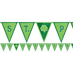 St Patrick's Day Bunting - 3m