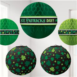 St Patricks Day Honeycomb & Lantern Pack