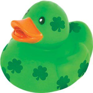 St Patricks Day Rubber Duck