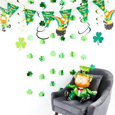 St Patrick's Day Decorating Kit - Deluxe