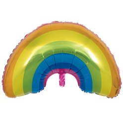 "Rainbow Shaped Supersize Balloon - 36"" Foil"