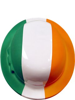 Irish Flag Bowler - 26cm