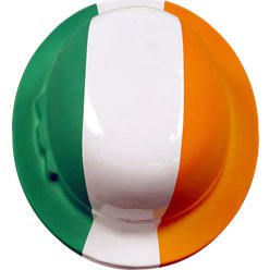 Irish Flag Bowler Hat