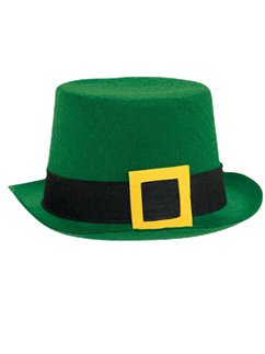 Leprechaun Top Hat - 33cm