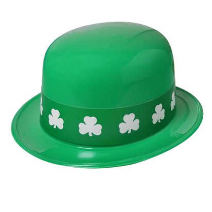Shamrock Band Irish Leprechaun Derby - St Patrick's Day Hat - Adult One Size front