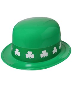 Shamrock Band Derby Hat